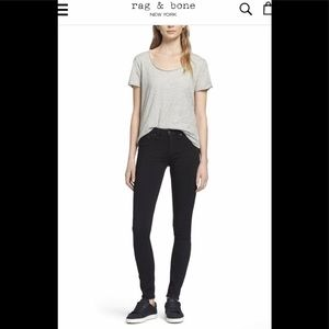 RAG & BONE | Black Legging Jeans